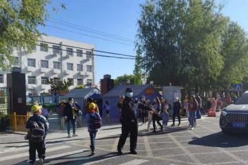 一校址配一名辅警守卫北京通州区投入400余警力保障校园安全